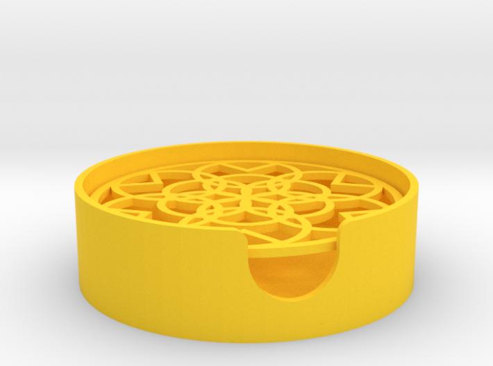 Pattern Soap Dish 3d printed