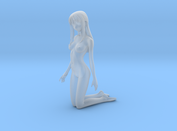 1/24 Nude Beach Beauty for Diorama 3d printed