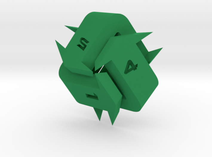Recycling d6 3d printed