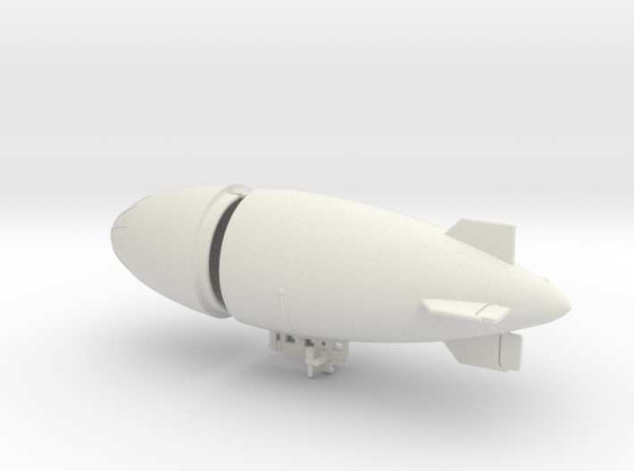 US Army AC-1 Airship 1/700 & 1/600 scale 3d printed