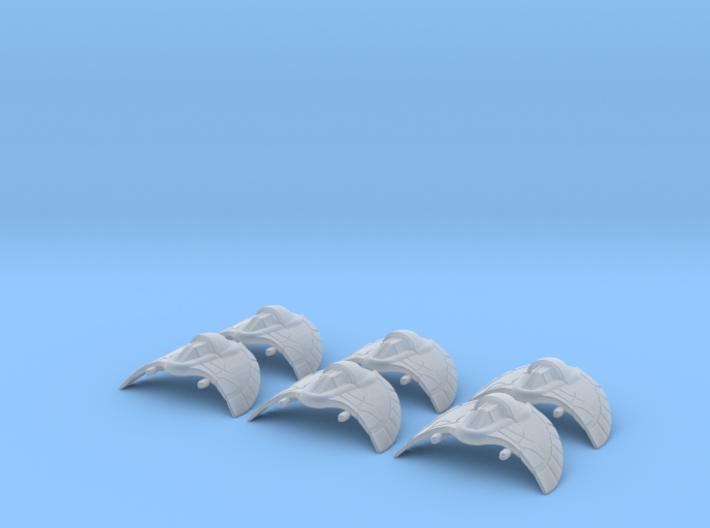 Death Glider Large set: 1/700 scale 3d printed