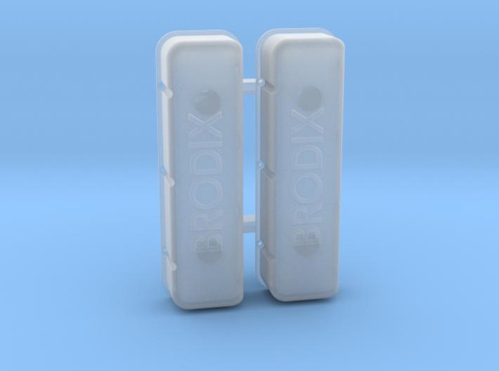 Brodix Big Block Valve Covers 3d printed