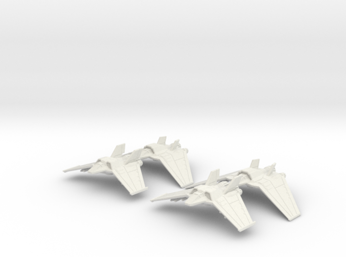 Tauri Heavy Squadron: 1/270 scale 3d printed