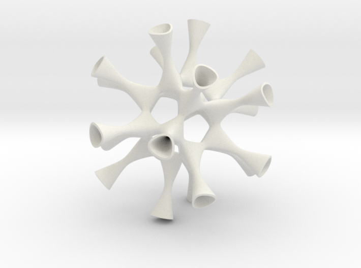 Barth Sextic smoothed (museum size) 3d printed