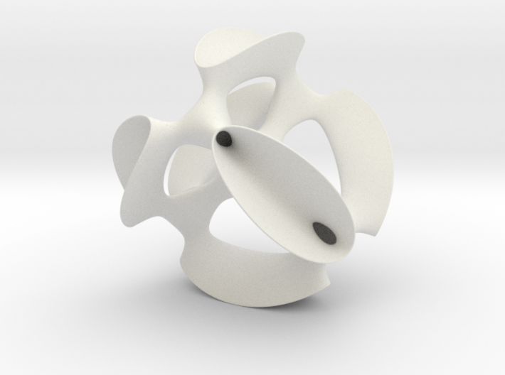 Smoothed Kummer Quartic (a K3), museum size 3d printed