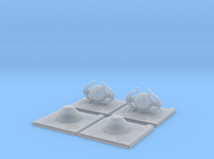 Stargate Space Munitions tokens 3d printed