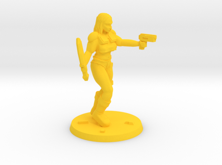 Raider Jasmin 3d printed