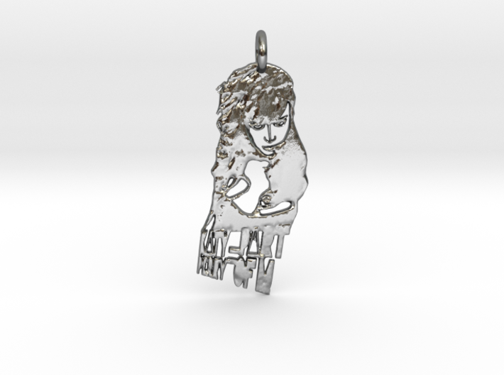 Katy Perry Pendant ((((((Part of Me)))))) 3d printed