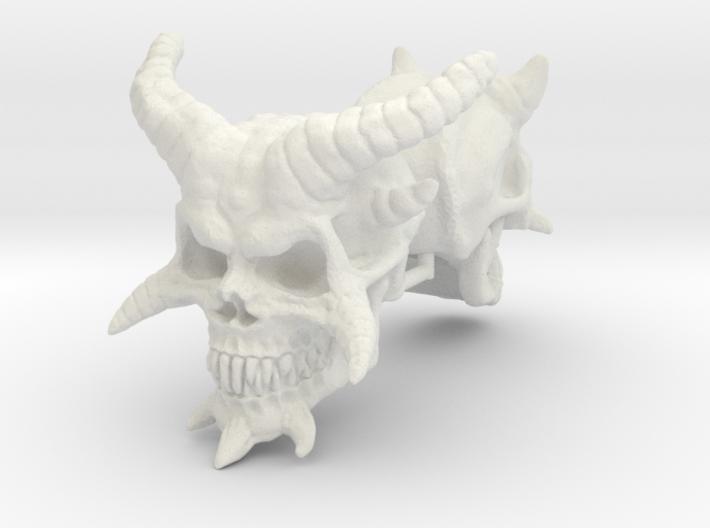 Demon Skulls 1:6 scale 3d printed