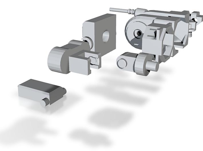 Power Core Colossus Limb set 3d printed