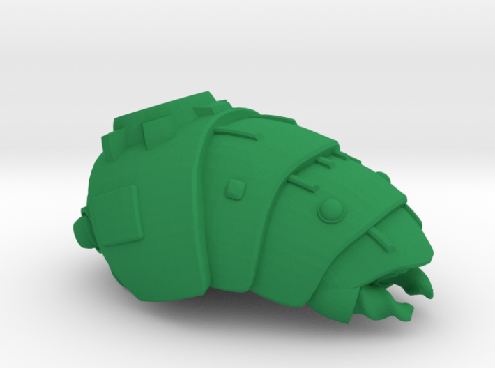 """Space Mining Frigate """"Groover"""" (OEM Drone class) 3d printed"""