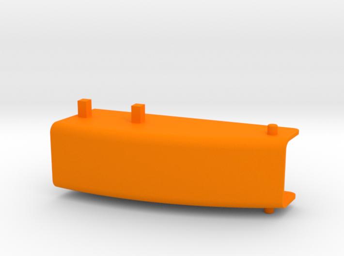 Auswurfkamin für Servomontage, 25mm breit 3d printed