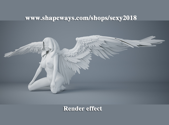 Sexy angel series 005 3d printed