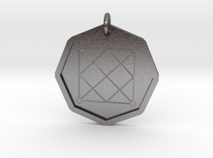 Seal of Mercury 3d printed