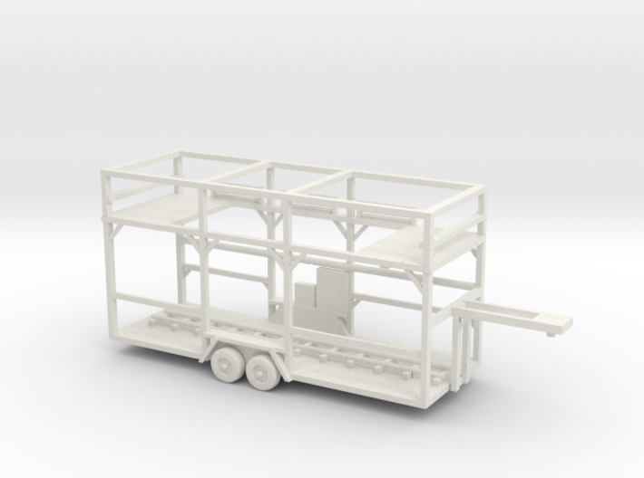 central park carnival ride by majestic, trailer wi 3d printed