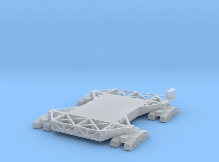 1/400 Scale Crawler Transporter NASA 3d printed