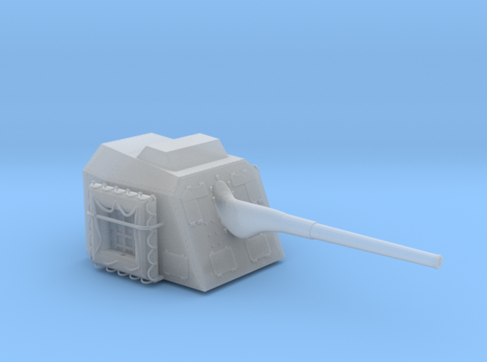 1/72 DKM 15cm/55 (5.9in) TBts KC/36 Gun 3d printed