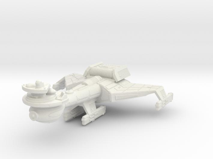 3125 Scale Klingon B10K Battleship WEM 3d printed