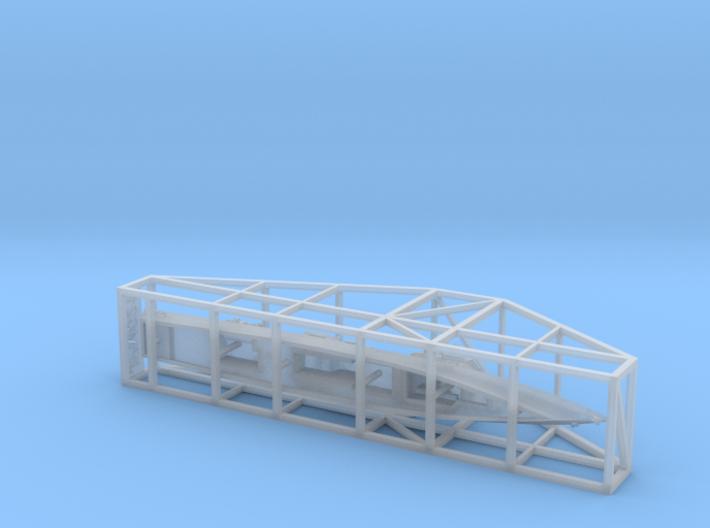 1/1800 Experimental Ship  JS Asuka 3d printed