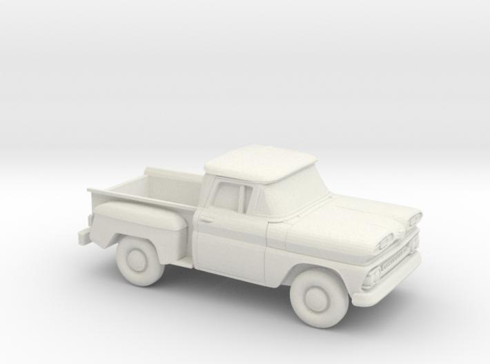 1/87 1961 Chevrolet C-10 Stepside 3d printed