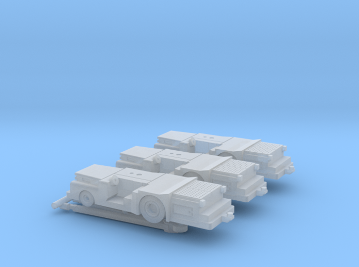 028E MD-3 1/200 set of 3 3d printed