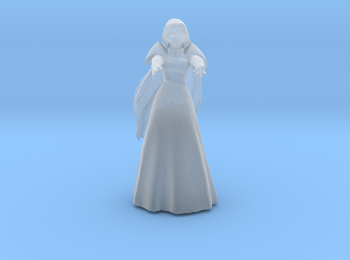 1/48 Micronized Milia in Wedding Dress 3d printed