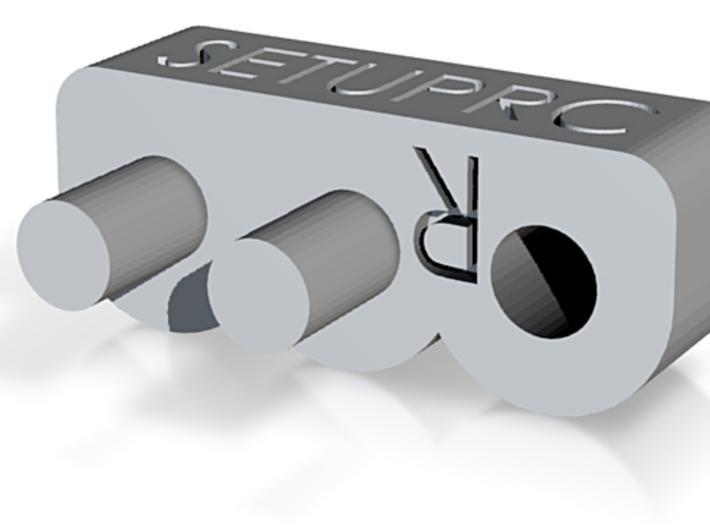 B6D 3rd Rear Arm Hole 3d printed 3rd Hole for Rear Arm