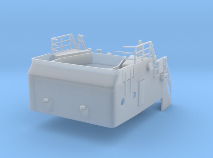 Superstructure 1/100 V60 fits Harbor Tug 3d printed