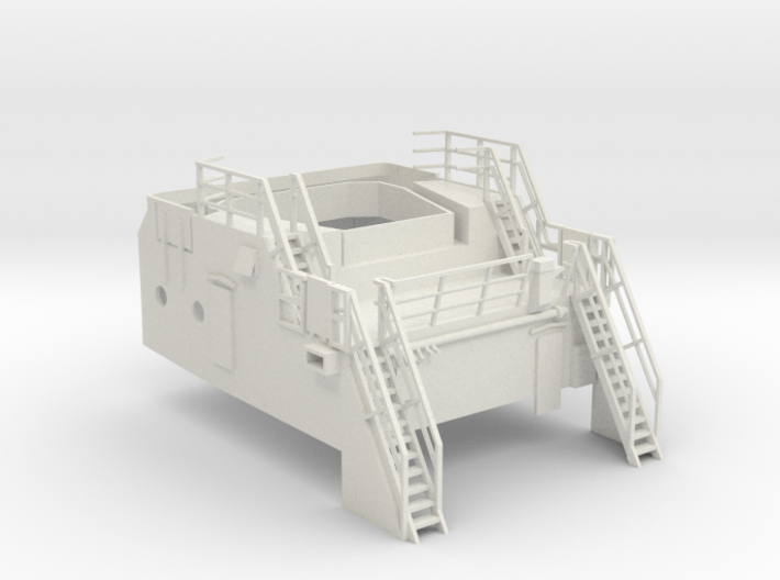 Superstructure 1/75 V60 fits Harbor Tug 3d printed