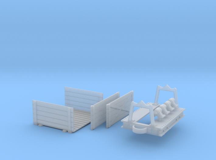 Decauville box wagon 3d printed