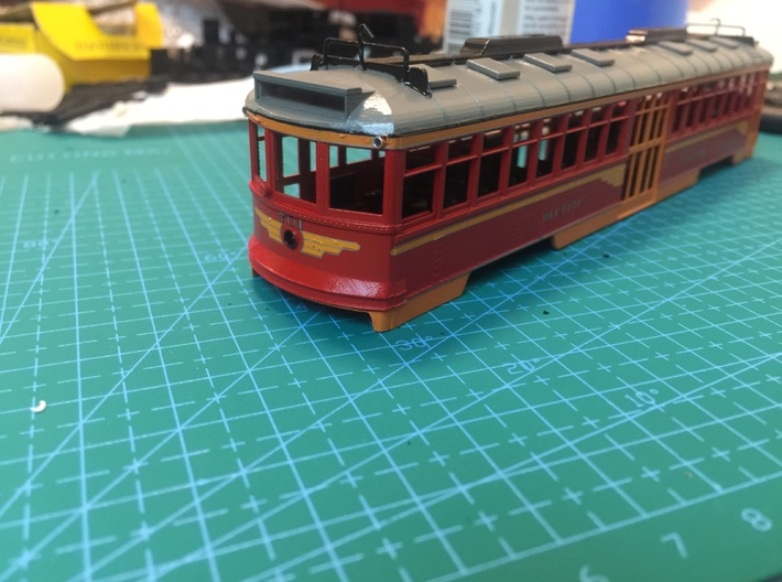 HO Pacific Electric Modernized Hollywood Car Kit 3d printed