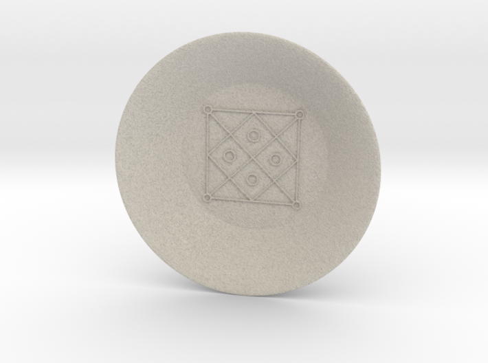Seal of Mercury Charging Bowl (large) 3d printed