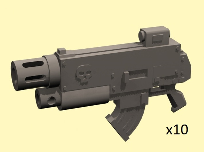 28mm Combination gun with melter (10) 3d printed