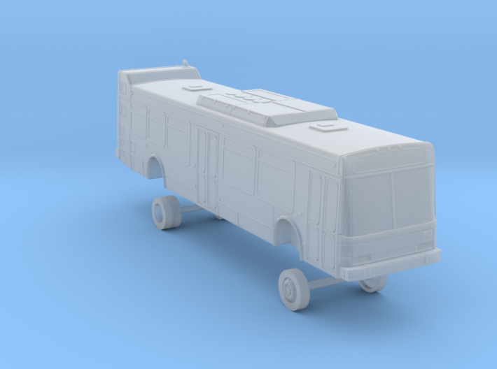 N Scale Bus NABI 40-LFW OCTA 2200/2300s 3d printed