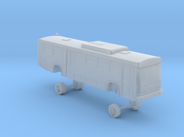 N Scale Bus Neoplan AN440 LACMTA 6300s 3d printed