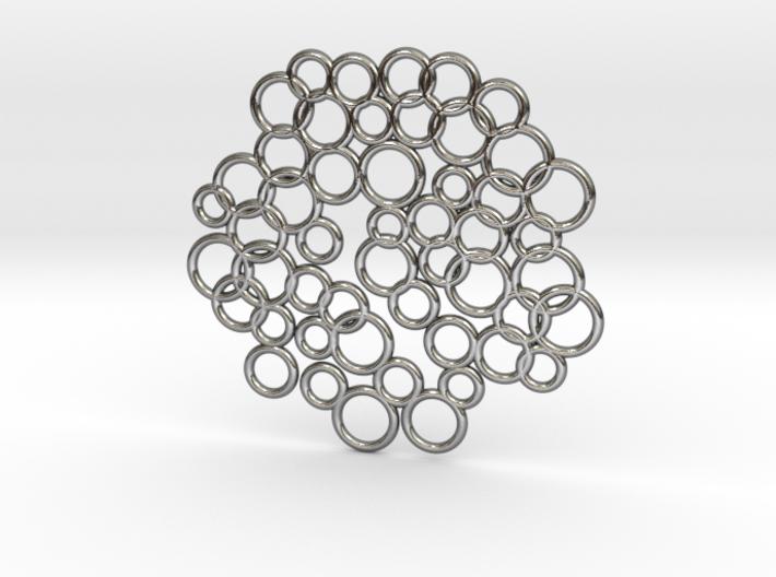 Bubble Pendant 3d printed