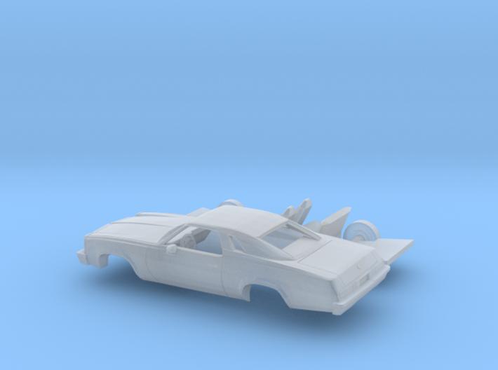 1/160 1976/77 Chevrolet Malibu Classic Coupe Kit 3d printed