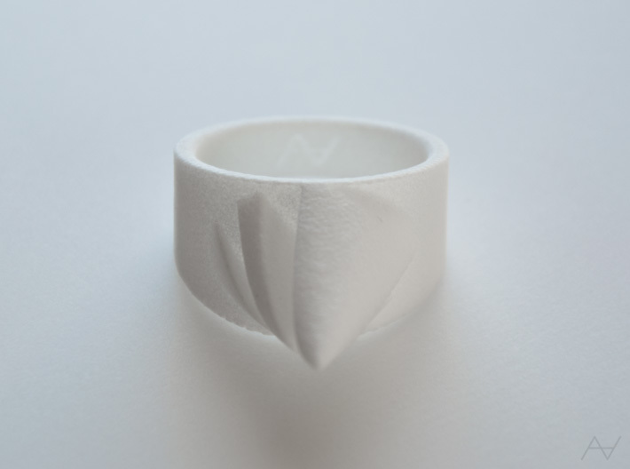 Parabolicone Ring 3d printed