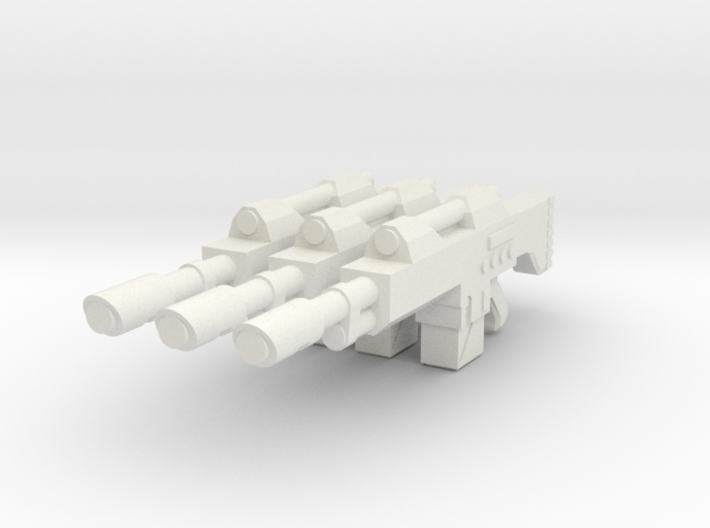 1/12 scale Laser rifle 3d printed