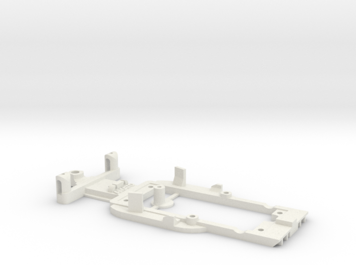 Chassis for Scalextric Honda FW11 (F1) 3d printed