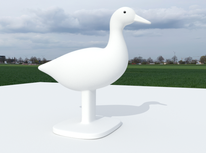Duck Bird Stand 3d printed Duck Model