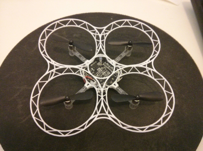 Crazyflie quadcopter frame 3d printed