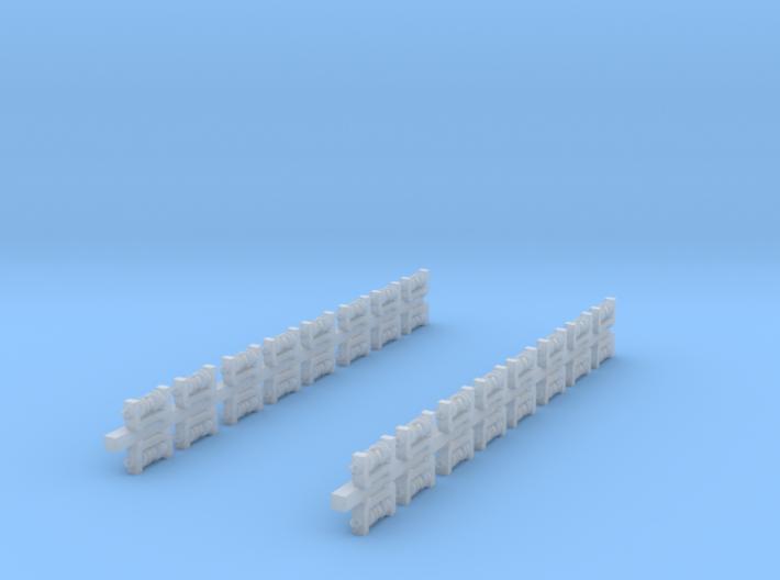 32x Isolatoren für Masten (TT 1:120) 3d printed