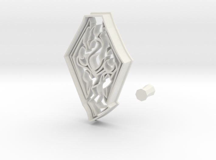 Skyrim Logo from Elder Scrolls Series Cookie Cutte 3d printed