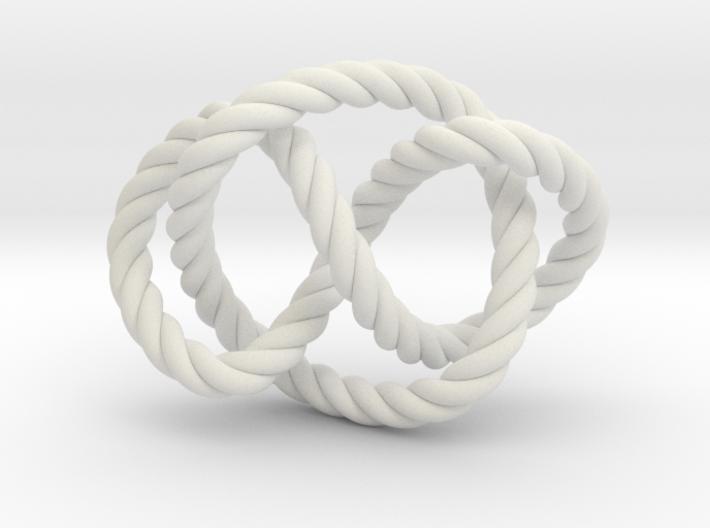 Whitehead link (Rope) 3d printed