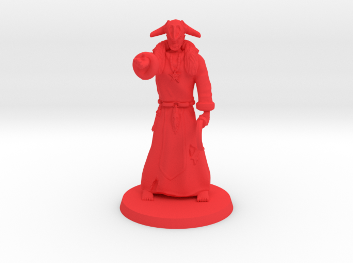 Dark Necromancer (ver 2.1) 3d printed