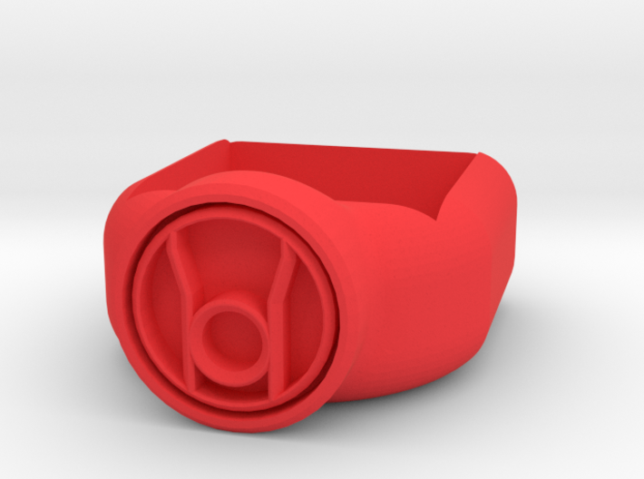 Red Lantern Corps Chalk Holder 3d printed