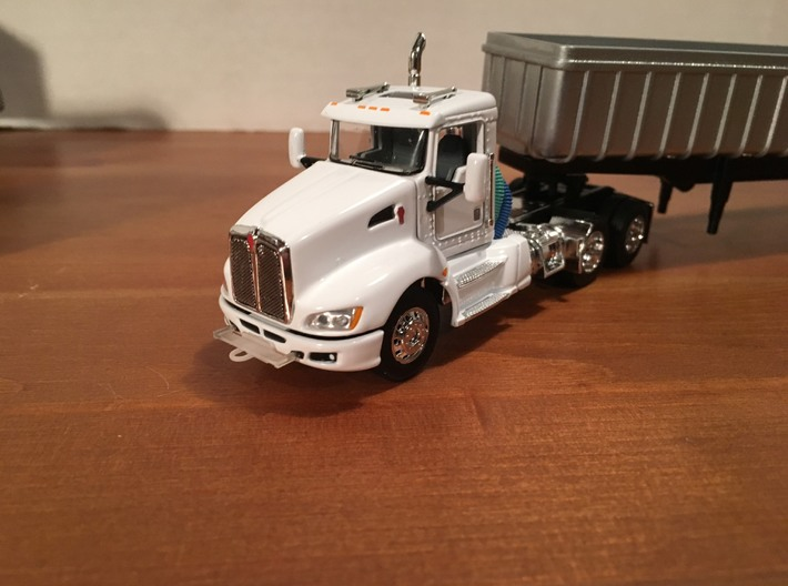 1/64 (10) Safe-T-Pull Truck Hitches 3d printed