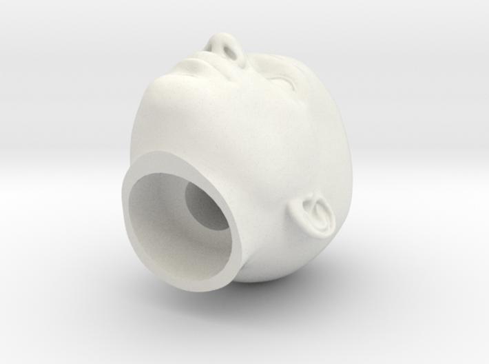 Generic Male Head 1/6 scale figure  - Variant 04 3d printed