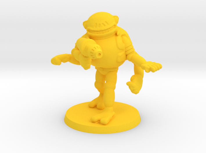 Trogg Security Officer #2 3d printed